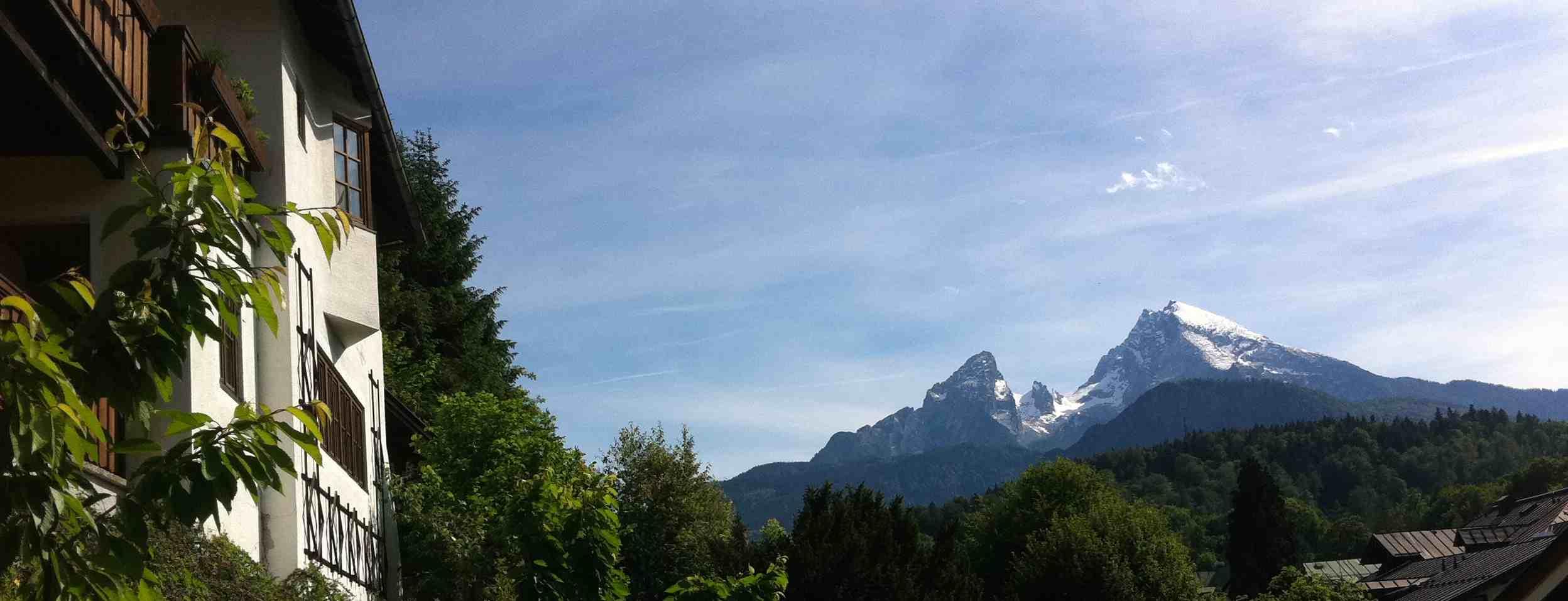 Ferienwohnungen direkt in Berchtesgaden